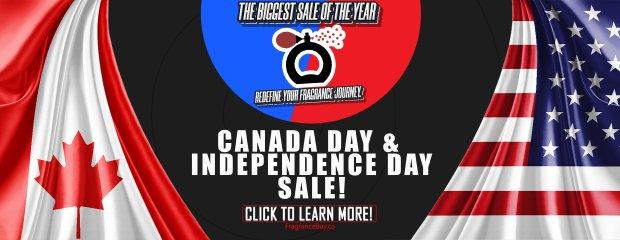 FragranceBuy Canada Day 2021 Sale Canadian Deals - Glossense