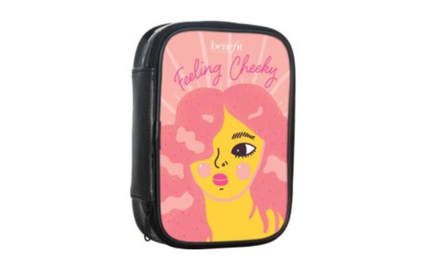 Shoppers Drug Mart Canada Free Benefit Cosmetics Makeup Bag Feeling Cheeky - Glossense
