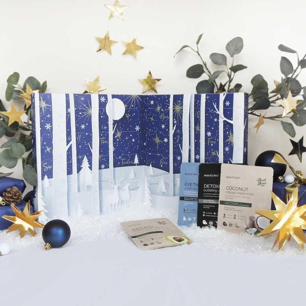 FeelUnique Canada BeautyPro 12 Days of ChristMask 2021 Advent Calendar Unboxing - Glossense