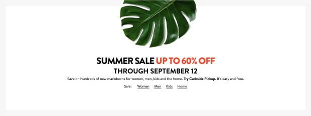 Nordstrom Canada Summer Sale 2021 Canadian Deals - Glossense