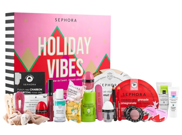 Sephora Canada Sephora Collection 2021 Advent Calendar 2022 Holiday Vibes Canadian Christmas Gift Unboxing - Glossense