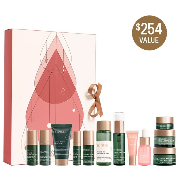 Biossance Canada 2021 Advent Calendar 12 Days to your Healthiest Skin Canadian Holiday Christmas Countdown - Glossense