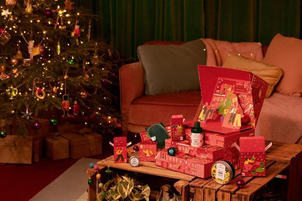 The Body Shop Canada Share The Love Big 2021 Advent Calendar Canadian Holiday Christmas Countdown - Glossense