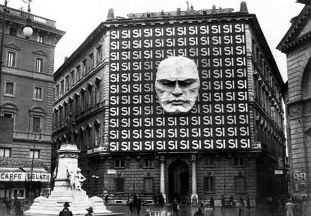 Benito Mussolini Italian Fascist Headquarters