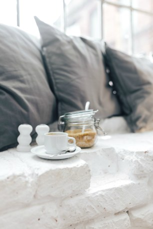 coffee sugar pillow