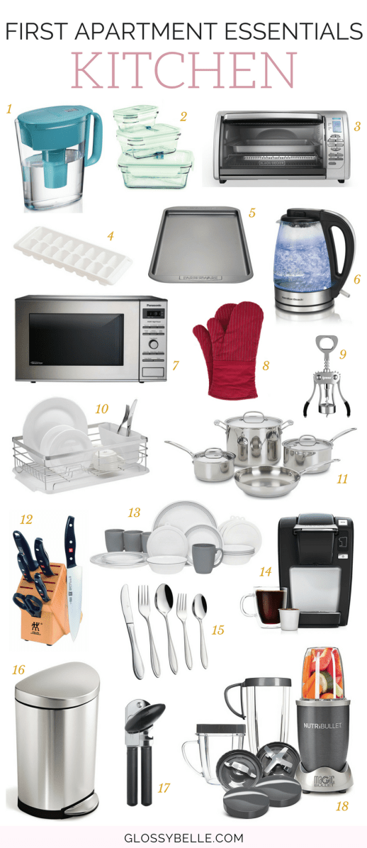 If you're about to move out into your first apartment, here are the most important apartment essentials you'll need to be ready to move out on your own. | adulting | move out for the first time | moving out | independence | college essentials | college dorm | room essentials | home decor | kitchen essentials #apartment #furniture #furnitureideas #adulting #homedecor #homedesign #kitchenideas #kitchendecor