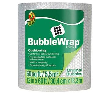 bubblewrap for moving