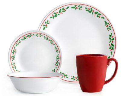 christmas dinnerware set