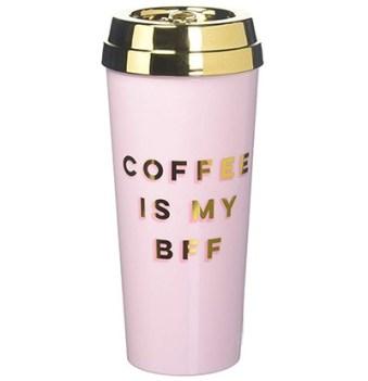 coffee is my bff tumbler