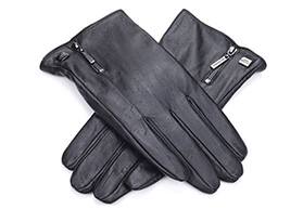 leather touch screen gloves