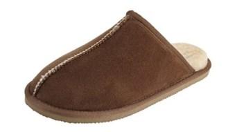 men fur house slippers