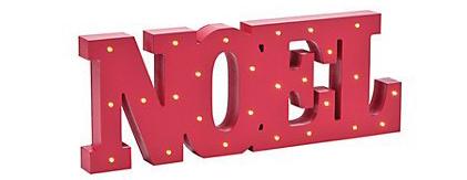 noel marquee letters