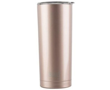 rose gold drink tumbler