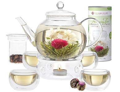 tea pot & infuser set