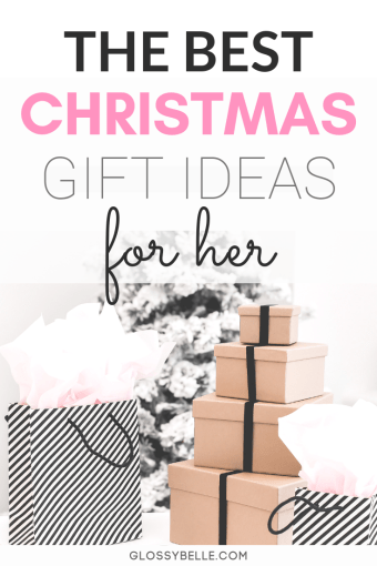 Having trouble finding the perfect gift for your mom, sister, aunt, or friend? Follow my holiday gift guide with the best Christmas gifts for her in this post! | christmas | christmas gift guide | christmas gifts for her | gift ideas for her | gifts for her | holiday gifts | girly gifts | gifts for girls | makeup | home decor | beauty | pamper #giftguide #christmasgifts #giftideas #giftsforher #holidaygifts