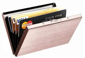 stainless steel wallet organizer