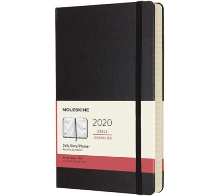 Moleskine Classic 12 Month 2020 Daily Planner