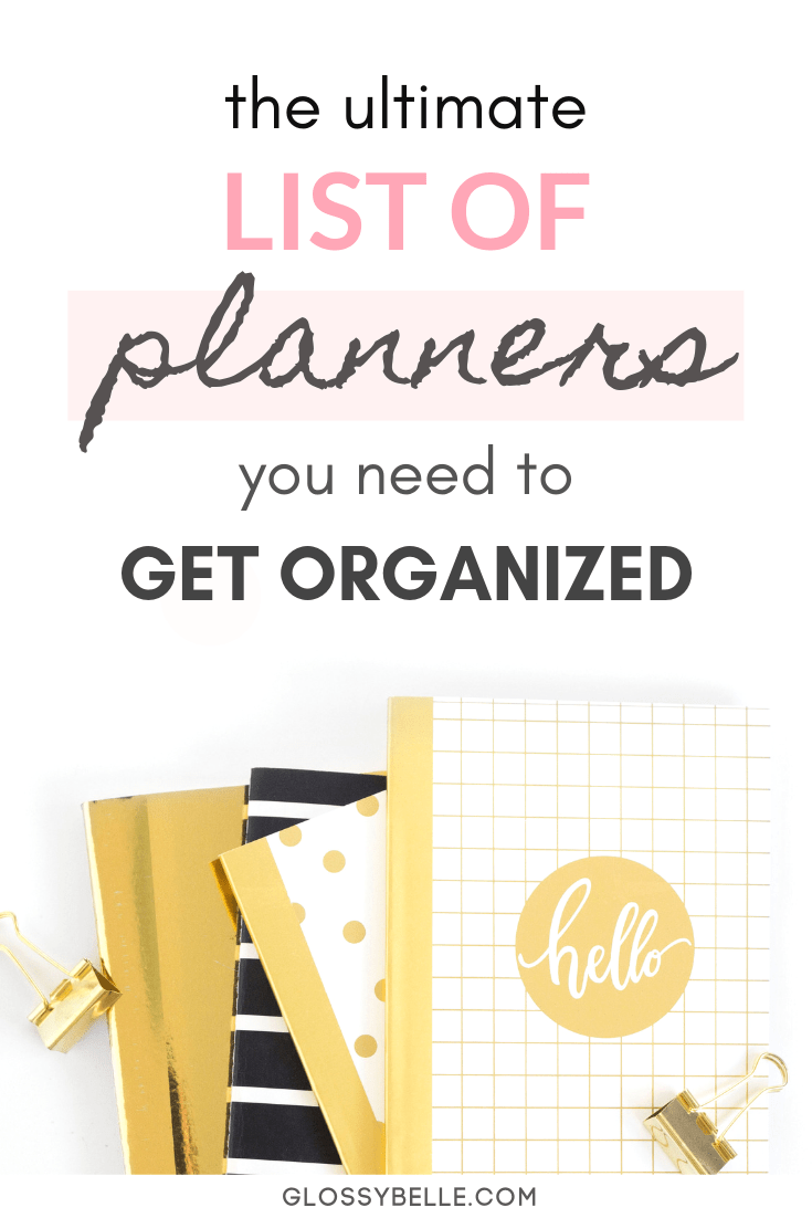 If you're trying to reach your goals and achieve your dreams, sometimes it can feel a little overwhelming without the right tools. In this post, I break down the must-have planners you need to plan your life that will skyrocket your productivity levels, help you stay organized, and provide more structure to your day so that you can ultimately slay your goals & live your best life. #organization #productive #productivity #timemanagement #schedule #planneraddict #planners #planner #workfromhome