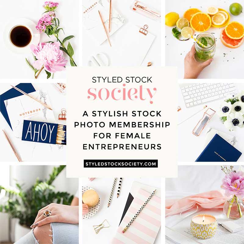 styled stock society stock photos