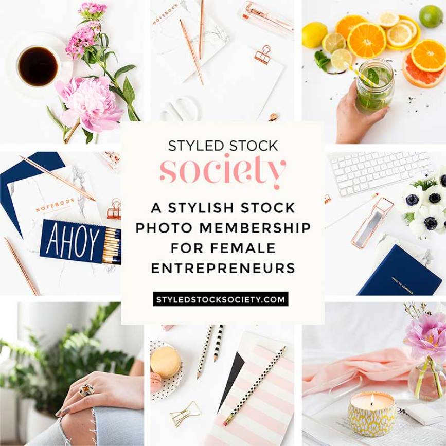 styled stock society stock photos