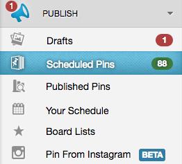 tailwind scheduled pins