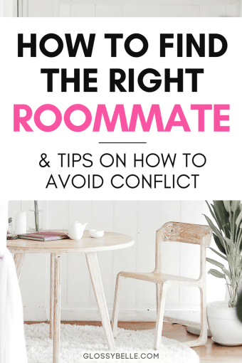 If you're looking to find the perfect roommate, the whole process can be a little nerve-wracking and overwhelming! There are so many factors to consider before moving in with someone. In this post, I'll be breaking down how to find yourself the right roommate and tips on how to avoid conflict when you live together. | adulting | adulting 101 | roommate finder | independence | cohabitation | college | roommate agreement | apartment