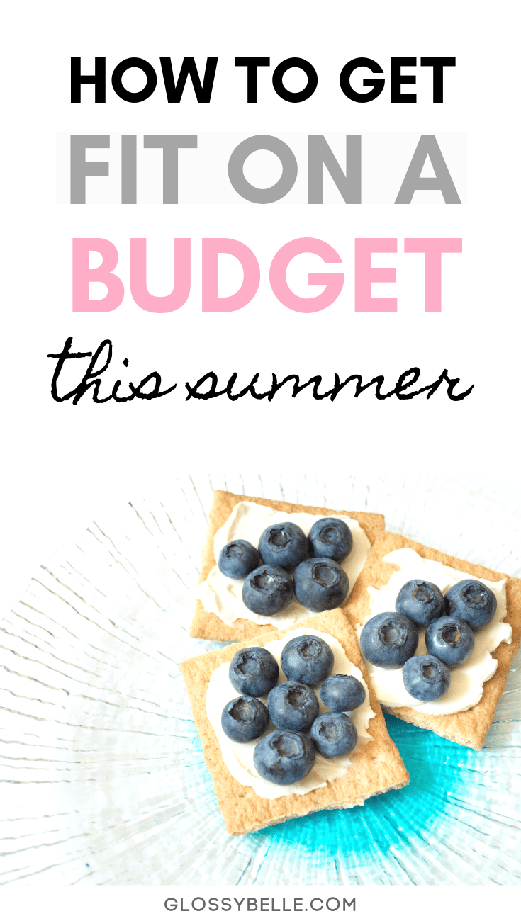 Working out and taking control of your health doesn't have to cost an arm and a leg.  Here are 5 fun and affordable ways you can get fit on a budget so you can feel and look your best this summer. #ad | motivation | stay fit | healthy habits | summer body | get in shape #fitness #fitnessmotivation #fitnesstips #fitnessgoals #workout #exercise #healthylifestyle #health #wellness #savingmoney #budgeting #frugal