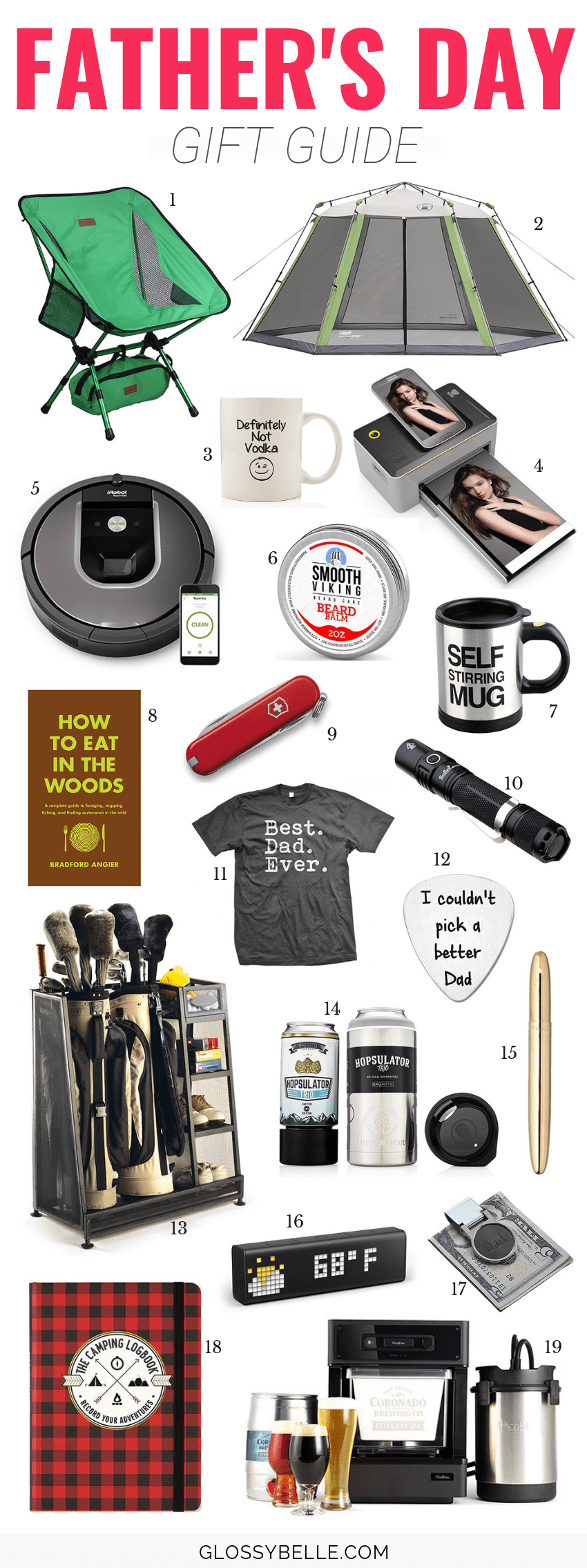 With Father's Day just around the corner, it can be hard to find a gift that your Dad likes and doesn't already have! In this Father's Day gift guide, I list out 25 cool gift ideas you can buy to spoil your Dad on his special day. | father's day gift guide | father's day gifts | presents | gift guide | gifts for dads | holiday gift guide #giftguide #giftideas #giftsforhim #fathersday #dadlife #holidaygifts