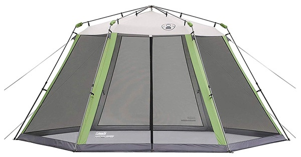 coleman camping canopy tent