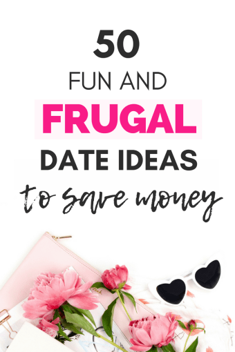 Paying for expensive dates adds up and it can become a burden to any budget! Luckily, you don't need to spend a lot to have fun and enjoy time together. Here are 50 frugal date ideas you can do with your partner to save money that are either free or don't cost an arm and a leg. | free date ideas | dating ideas #frugal #datenight #dateideas #relationships #frugalliving #budgeting #savingmoney