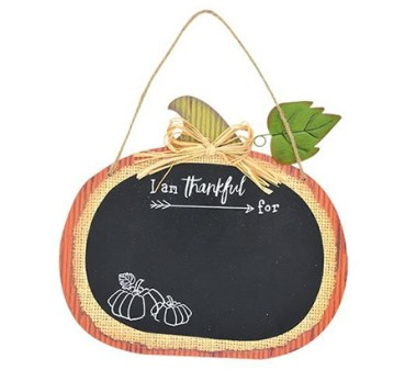 pumpkin chalkboard wall decor