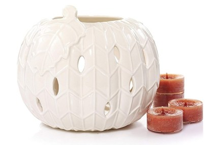 yankee candle pumpkin candle set