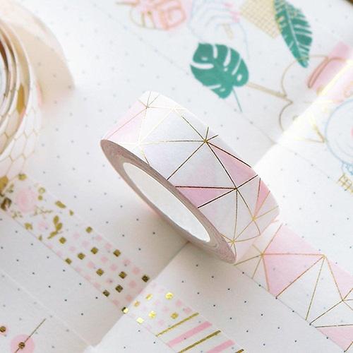 washi tape pink