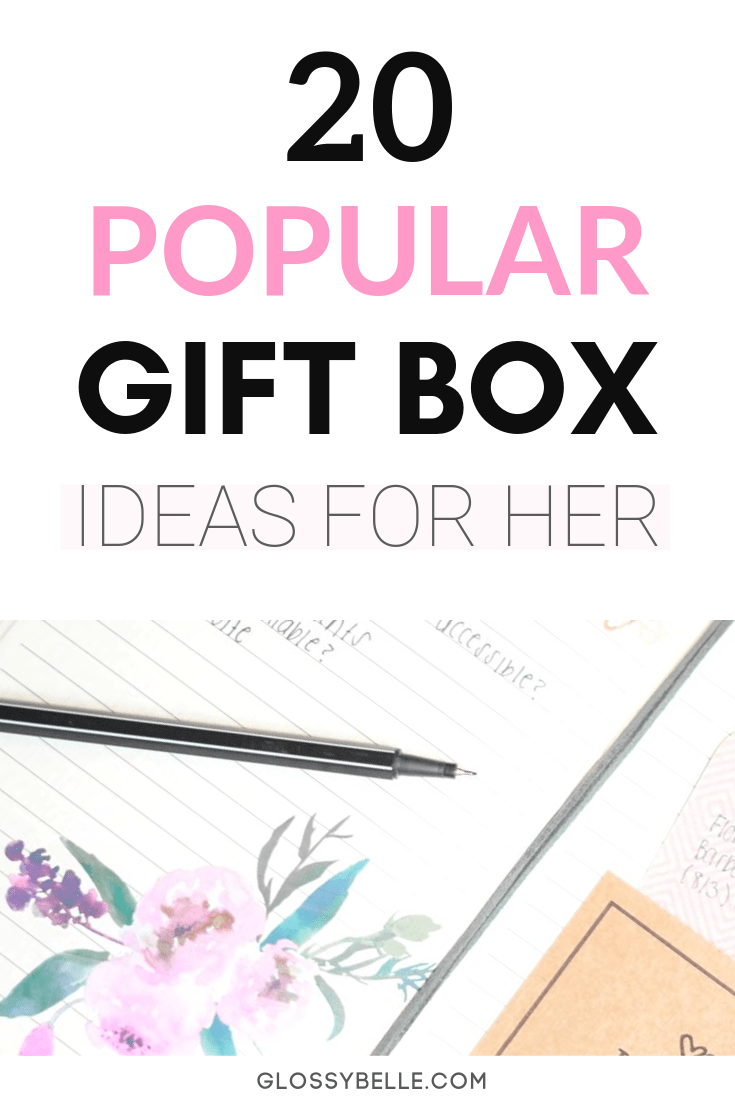 If you're stuck on coming up with a unique gift idea this holiday season, here are 20 Christmas gift box ideas for her. | christmas gift guide | christmas gifts for her | gift ideas for her | gifts for her | holiday gifts | girly gifts | gifts for girls | makeup | home decor | beauty | pamper | self-care | candles | wellness | teas | books | subscription gift box | subscription gifts for her | gift box subscriptions #giftguide #christmasgifts #giftideas #subscriptionboxes #holidaygifts