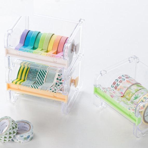 washi tape clear dispenser