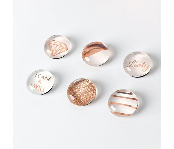 rose gold magnets