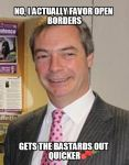 Groundbreaking UKIP-Turn: Kippers Start Actually Hating Foreigners