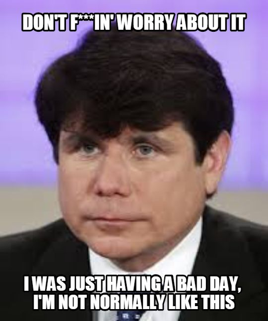 rod blagojevich special pleading