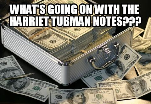 Harriet Tubman note