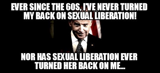 Creepy Biden
