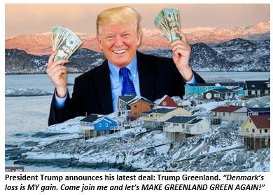 Trump Greenland scam fraud