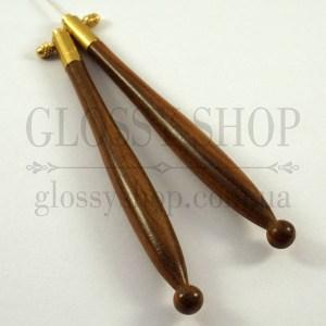 Люневильский крючок - ручка резная 70-90 палисандр (Франция)