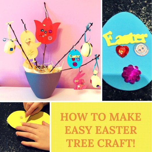 Easy and simple crafts to do with children for Easter!