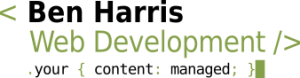 Ben Harris Web Development | Freelance Drupal and WordPress web developer