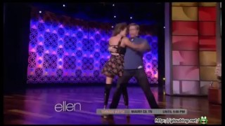 Amy Purdy & Derek Hough Interview & Performance Apr 28 2014