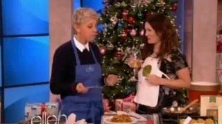 Drew Barrymore Is Cooking Dec 06 2012
