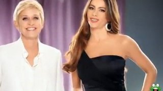 Ellen And Sofia Vergara New CoverGirl Commercial