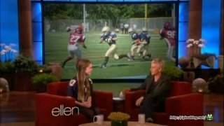 Ellen Meets A Young Footballer Jan 15 2013