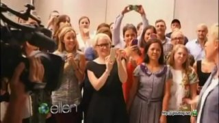 Ellen Surprises The Swisse Office In Australia Apr 22 2013