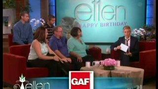 Ellen's Biggest Surprise Ever Jan 30 2014